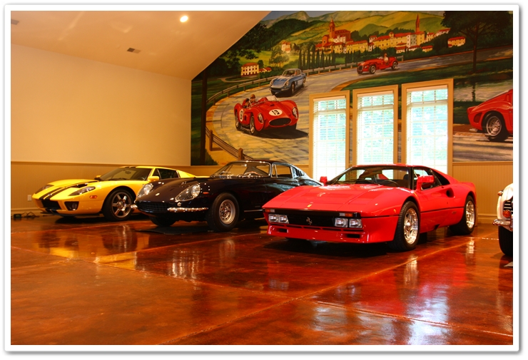 Rare automotive stable of Ferrari's and exotics