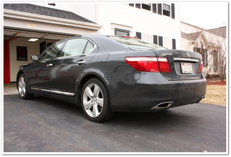 2008 Lexus LS460L before detailing