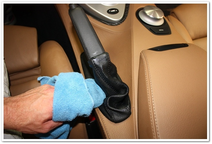 Using Leatherique Prestine Clean on BMW M6 interior