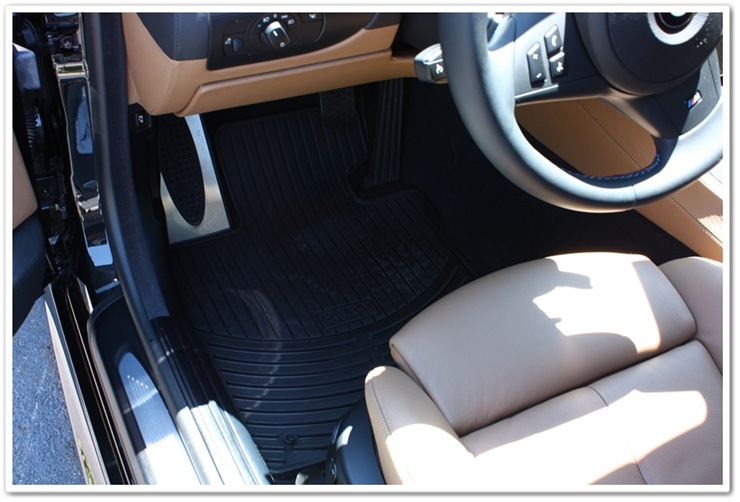 2008 BMW M6 black sapphire metallic interior detailed by Esoteric Auto Detail