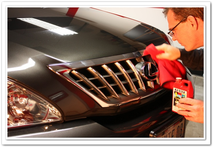 Klasse All-In-One used on chrome trim, grill and emblems