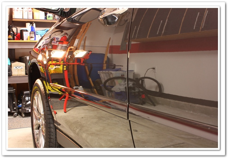 After picture of a 2008 Lexus RX350 detail