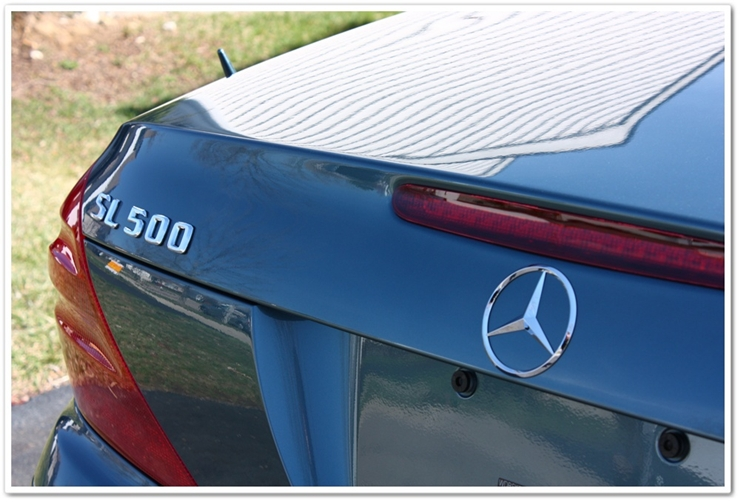 2006 Mercedes SL500 detailed by Esoteric Detail