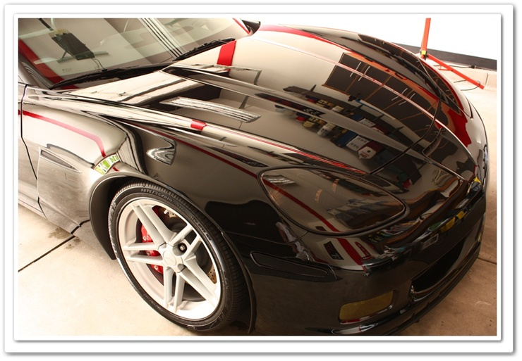2008 black Z06 Chevy Corvette detailed by Esoteric Detail