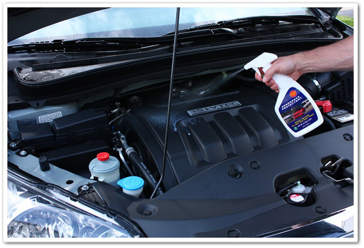 Protecting your engine bay with 303 Aerospace Protectant