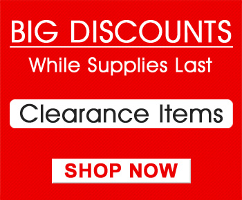 Big Discounts While Supplies Last - Clearance Items - Shop Now