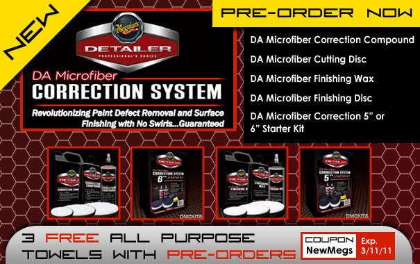 New Meguiar's DA Microfiber Correction System