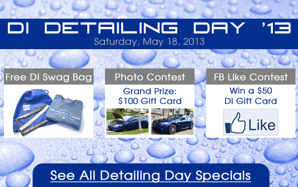 Detailing Day Specials