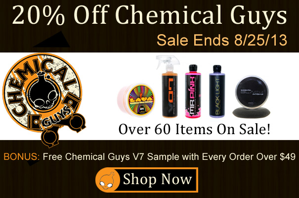 20% Off Chemical Guys