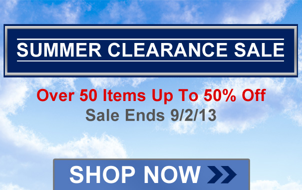 Summer Clearance Sale Up To 50% Off