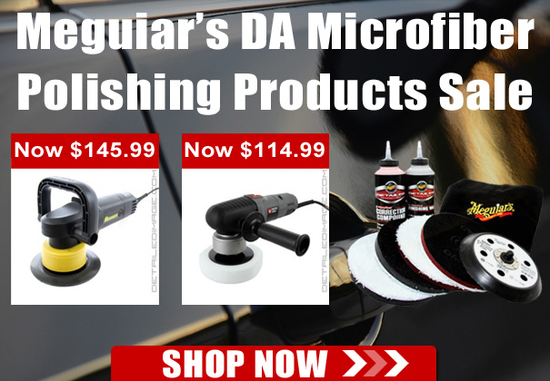 Meguiar's DA Microfiber Polishing Products Sale