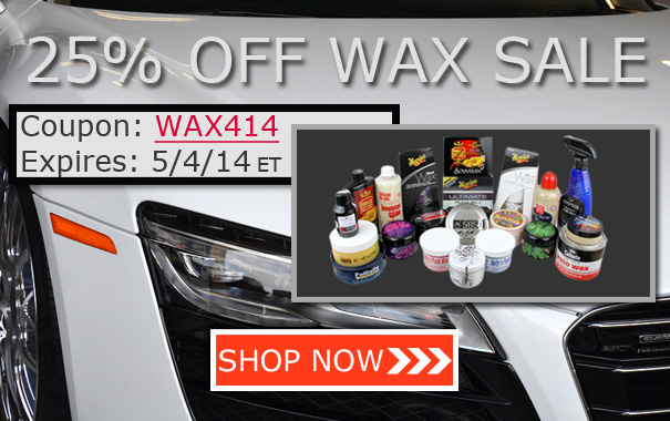 25% Off Wax Sale - Coupon WAX414