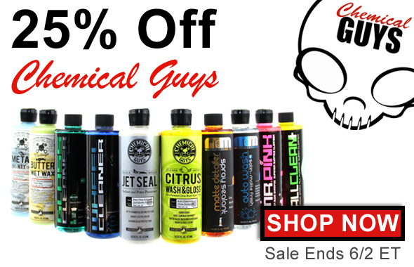 25% Off Chemical Guys - Shop Now