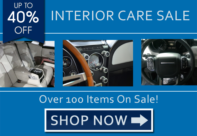 Up To 40% Off Interior Care Sale - Shop Now