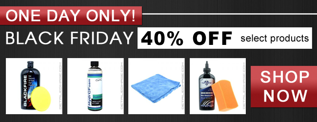 One Day Only! Black Friday 40% Off select products