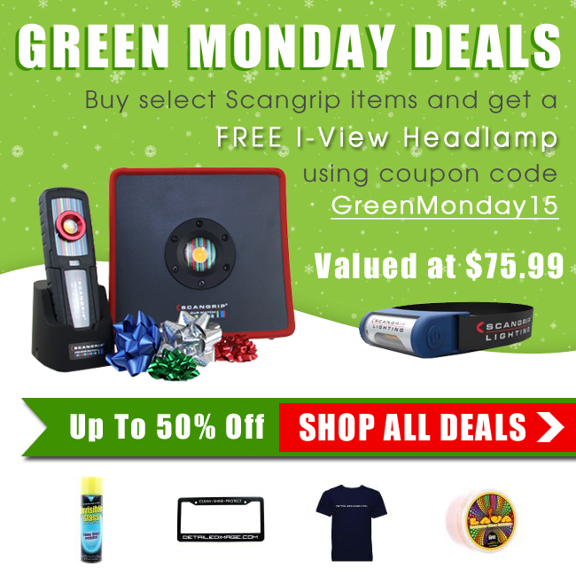 Green Monday Deals! Up To 50% Off! Free I-View Headlamp Worth $75.99 - Coupon Code GreenMonday15 - Shop All Deals Now