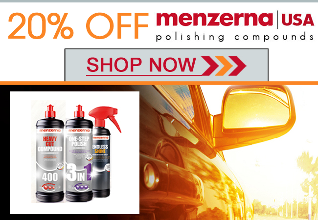 20% Off Menzerna Polishes - Shop Now