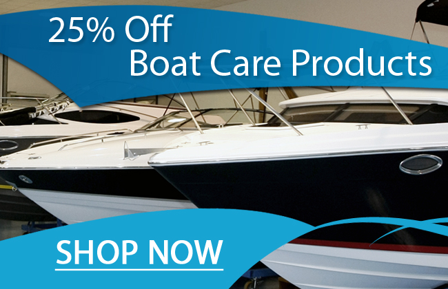 25% Off Boat Care Products - Shop Now