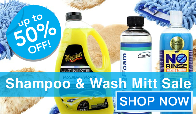 Up To 50% Off! Shampoo and Wash Mitt Sale - Shop Now