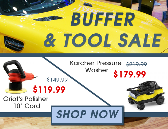 Buffer and Tool Sale - Shop Now