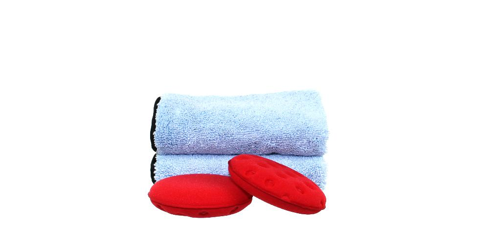 2x Applicators and 2x Microfiber Towels Ultimate Kit