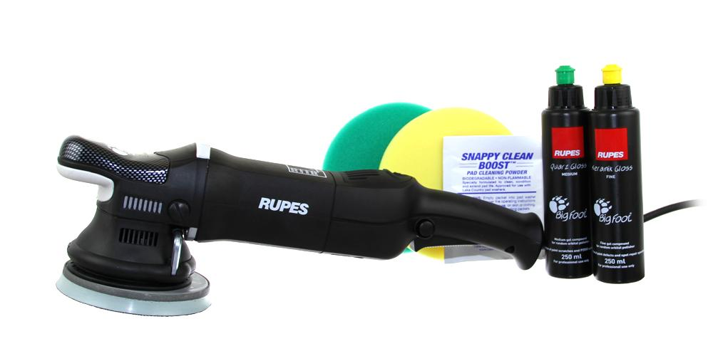 Rupes BigFoot Polisher Mark II 15 and Polish Kit