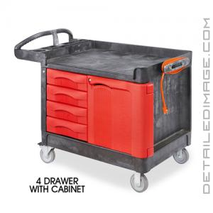DI Accessories Trademaster Carts - 4 Drawer XL