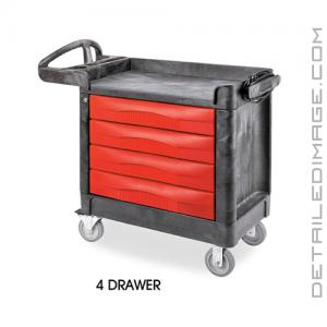 DI Accessories Trademaster Carts - 4 Drawer