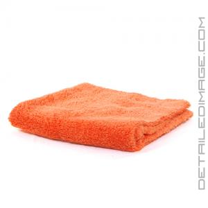 "DI Microfiber Double Thick Edgeless Towel - 16""x16"" Orange"