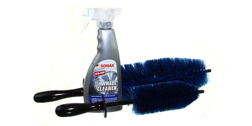 EZ Detail Brushes and Wheel Cleaner Kit