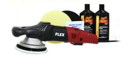 Flex XC 3401 VRG and Meguiar's Polish Kit