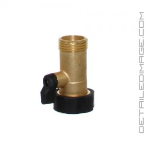 Gilmour Brass Connector High Flow Shut-off Valve