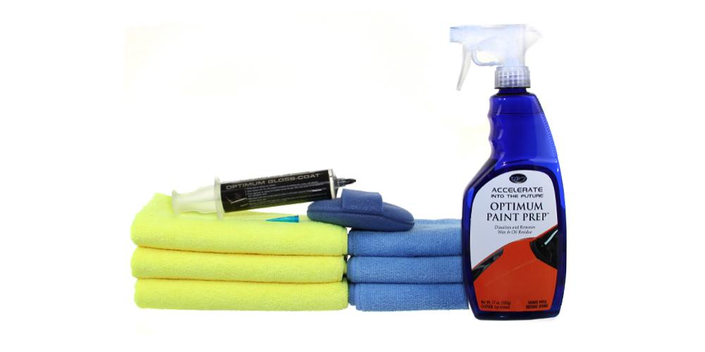 Optimum Paint Prep and Coating Kit