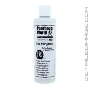 Poorboy's World Bold 'n Bright Tire Gel Dressing - 16 oz