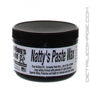 Poorboy's World Natty's Black Paste Wax - 8 oz