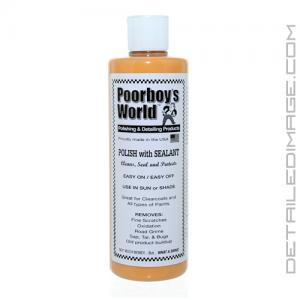Poorboy's World Polish with Sealant - 16 oz