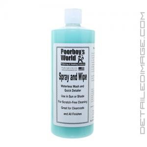 Poorboy's World Spray & Wipe (S&W) - 32 oz