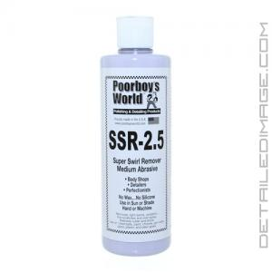 Poorboy's World Super Swirl Remover 2.5 (SSR 2.5) - 16 oz