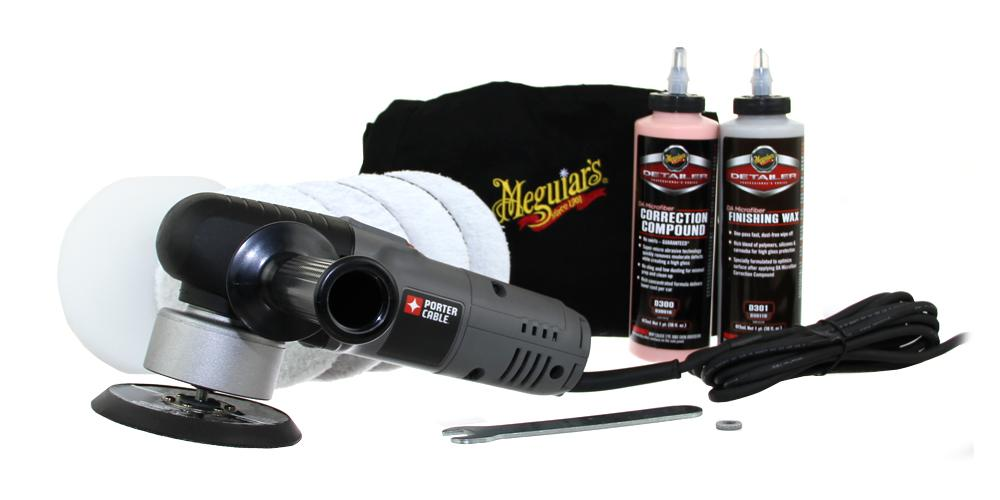 Porter Cable 7424XP & Meguiar's Correction Starter Kit 5""