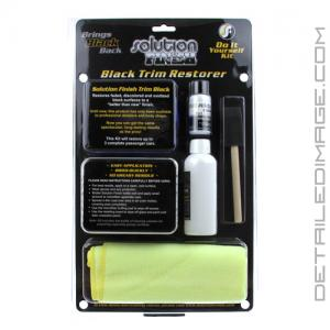 Solution Finish Black Trim Restorer - Kit