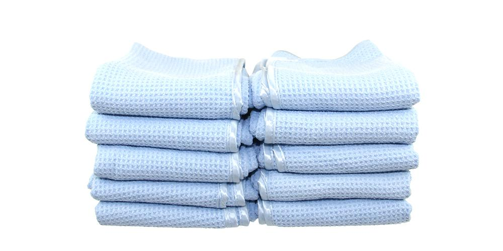 Waffle Weave Drying Microfiber Towel 10 Pack Special