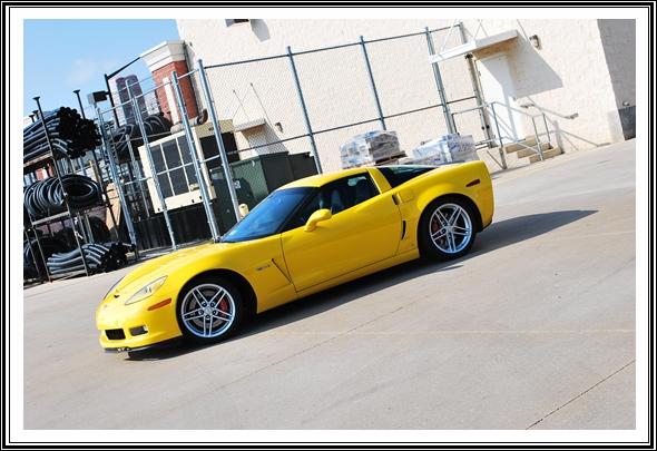2006 Chevy Corvette Z06 with Dodo Juice Banana Armour Wax
