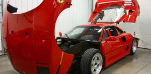Ferrari F40: 60 Hour Restorative Detail