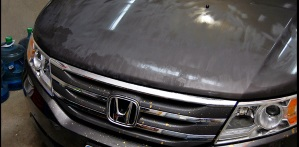 Spilled Paint Removal – Meguiars 2000 Grade – Unigrit and SurBuf R Series Pads
