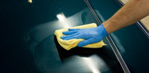 How I Use A Microfiber Towel To Remove Polish or Wax Residue