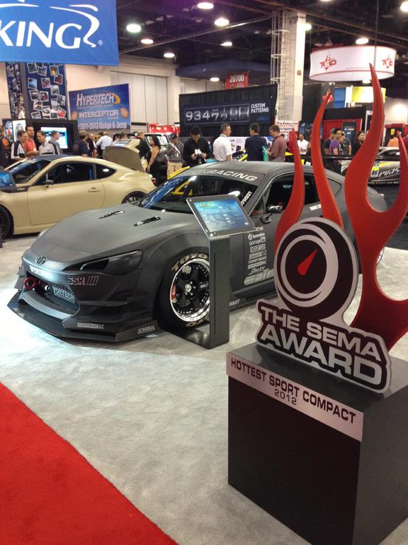 Scion FR-S Award Winner Hottest Sport Compact Car