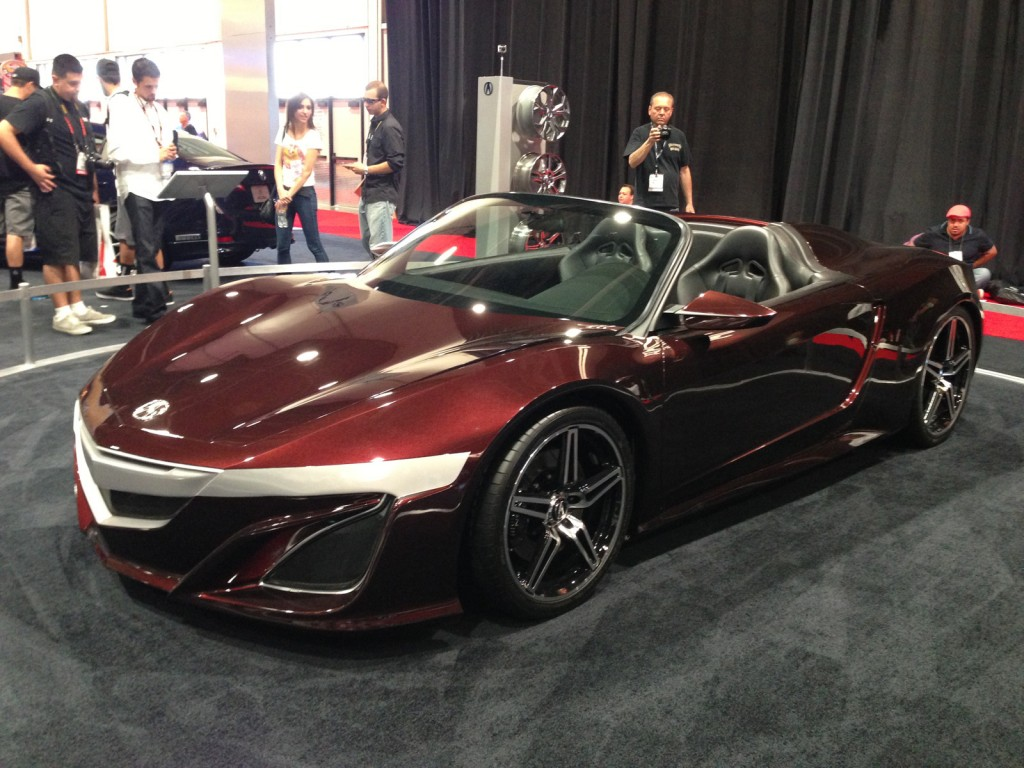 Acura Super Car as featured in Marvel's The Avengers