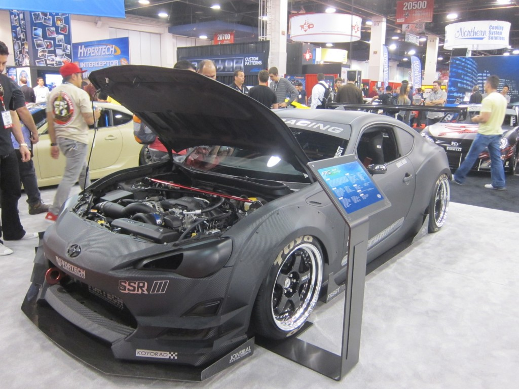 Scion FR-S Hottest Sport Compact at SEMA Show 2012