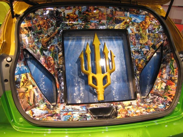 SEMA 2012 Kia DC Comics Justice League Aquaman Rio