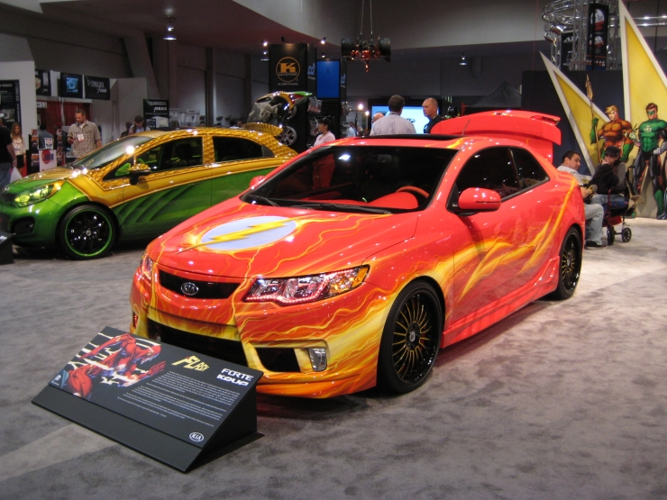 West Coast Customs Cars For Sale >> Five Awe-Inspiring Cars From Kia & DC Comics [SEMA Show 2012] | Ask a Pro Blog